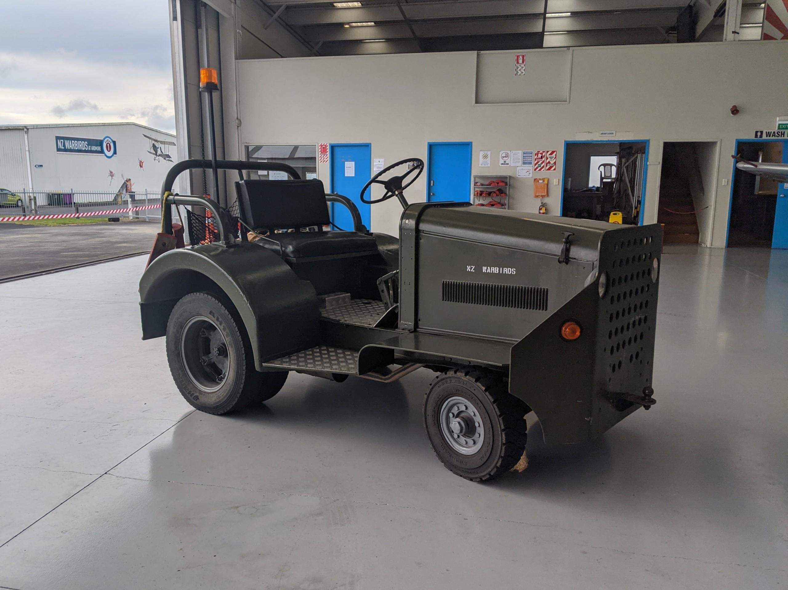 Clark Airfield Tractor - NZ Warbirds