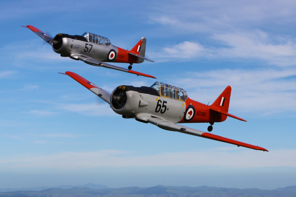 Adventure flights - NZ Warbirds