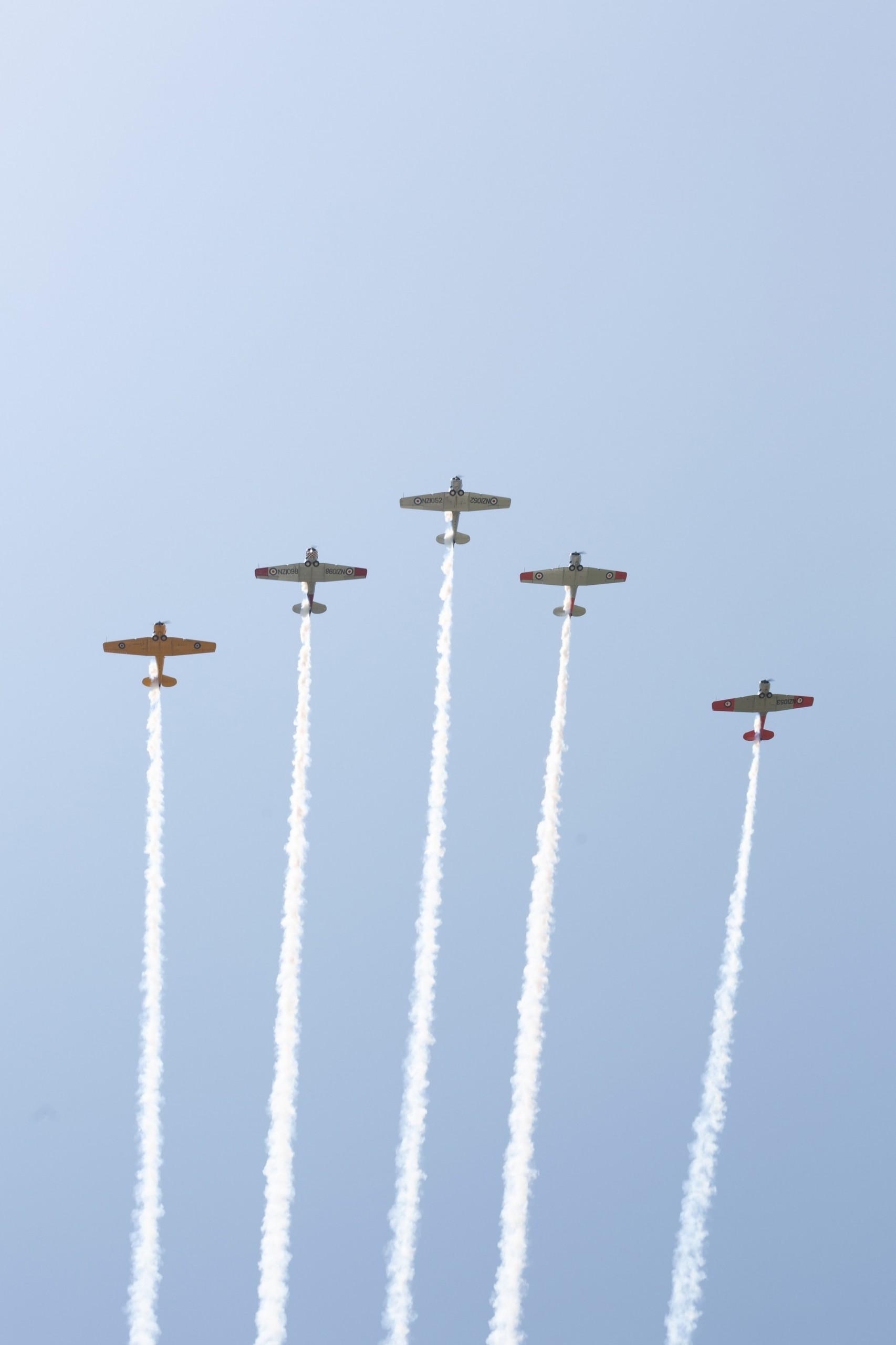 Display Teams - NZ Warbirds