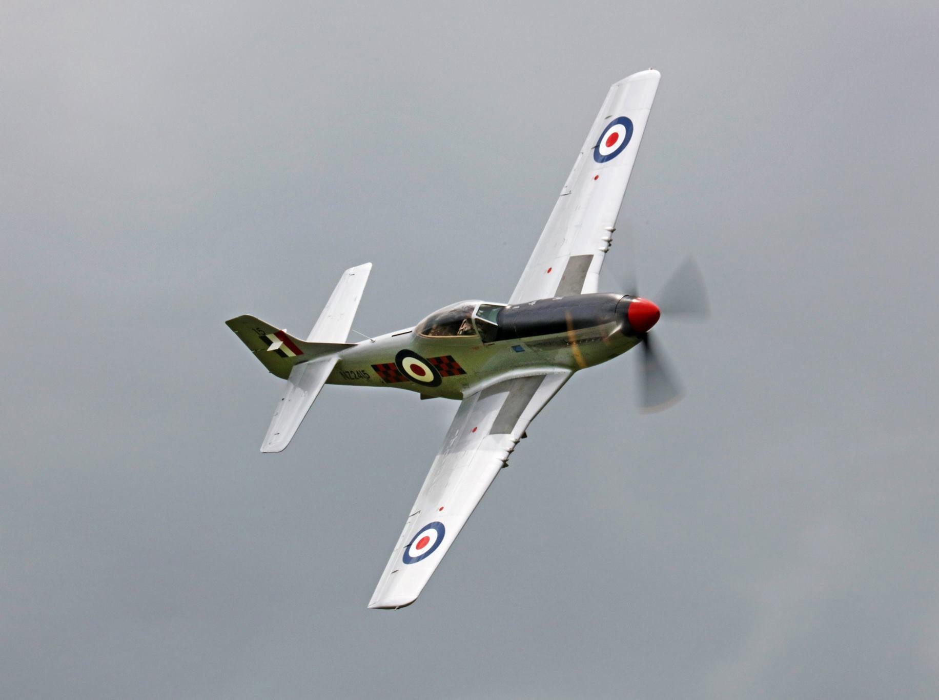 North American P-51-D Mustang - NZ Warbirds