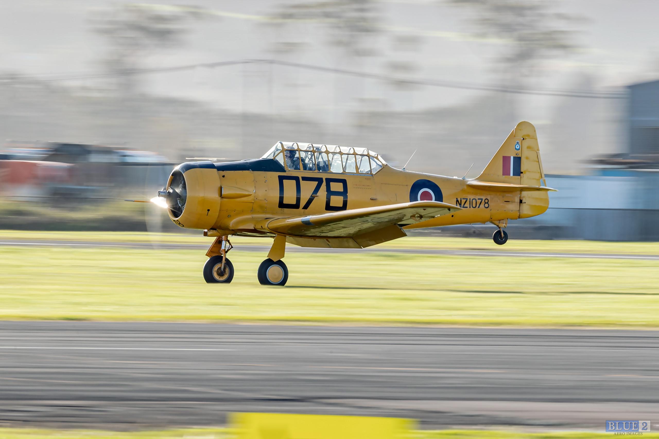 North American T-6 Harvard - NZWarbirds