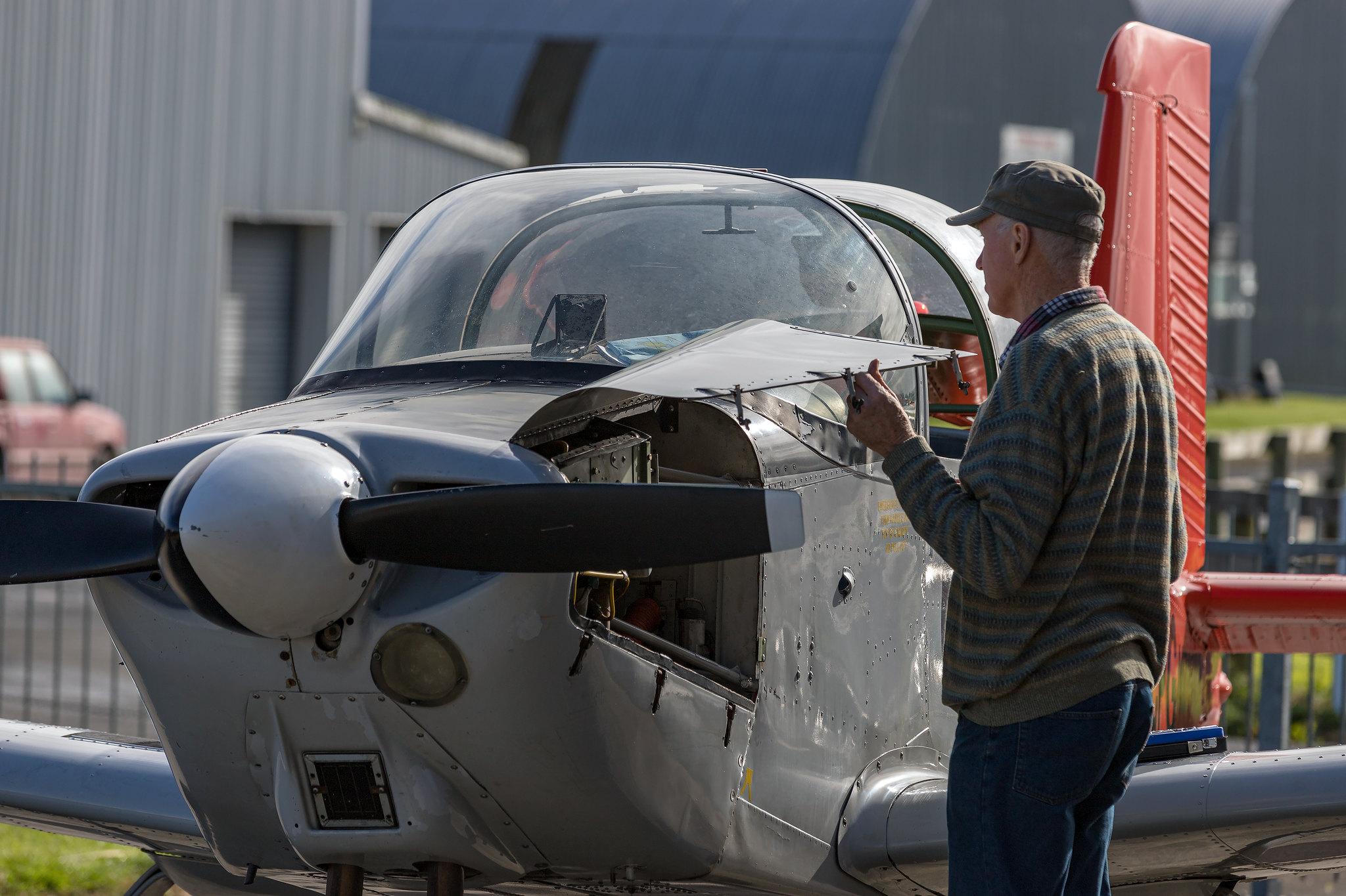 Flight training NZ - NZ Warbirds